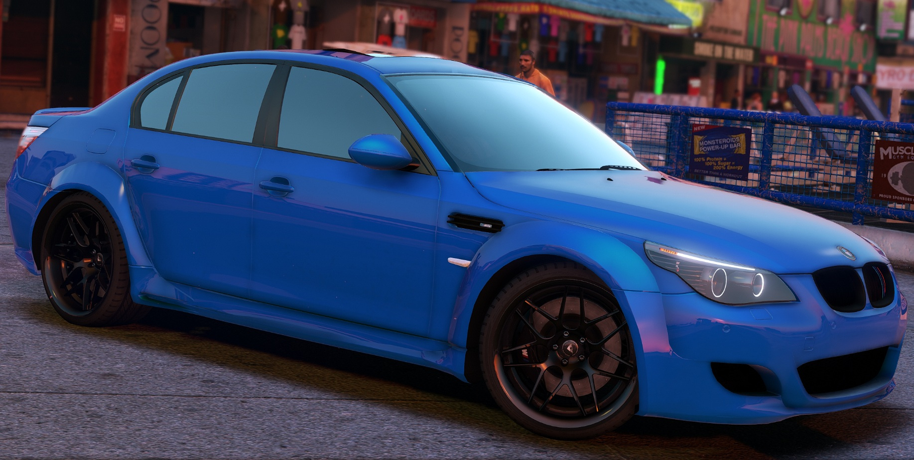 bmw m5 e60 lumma add on replace animated gta5. Black Bedroom Furniture Sets. Home Design Ideas