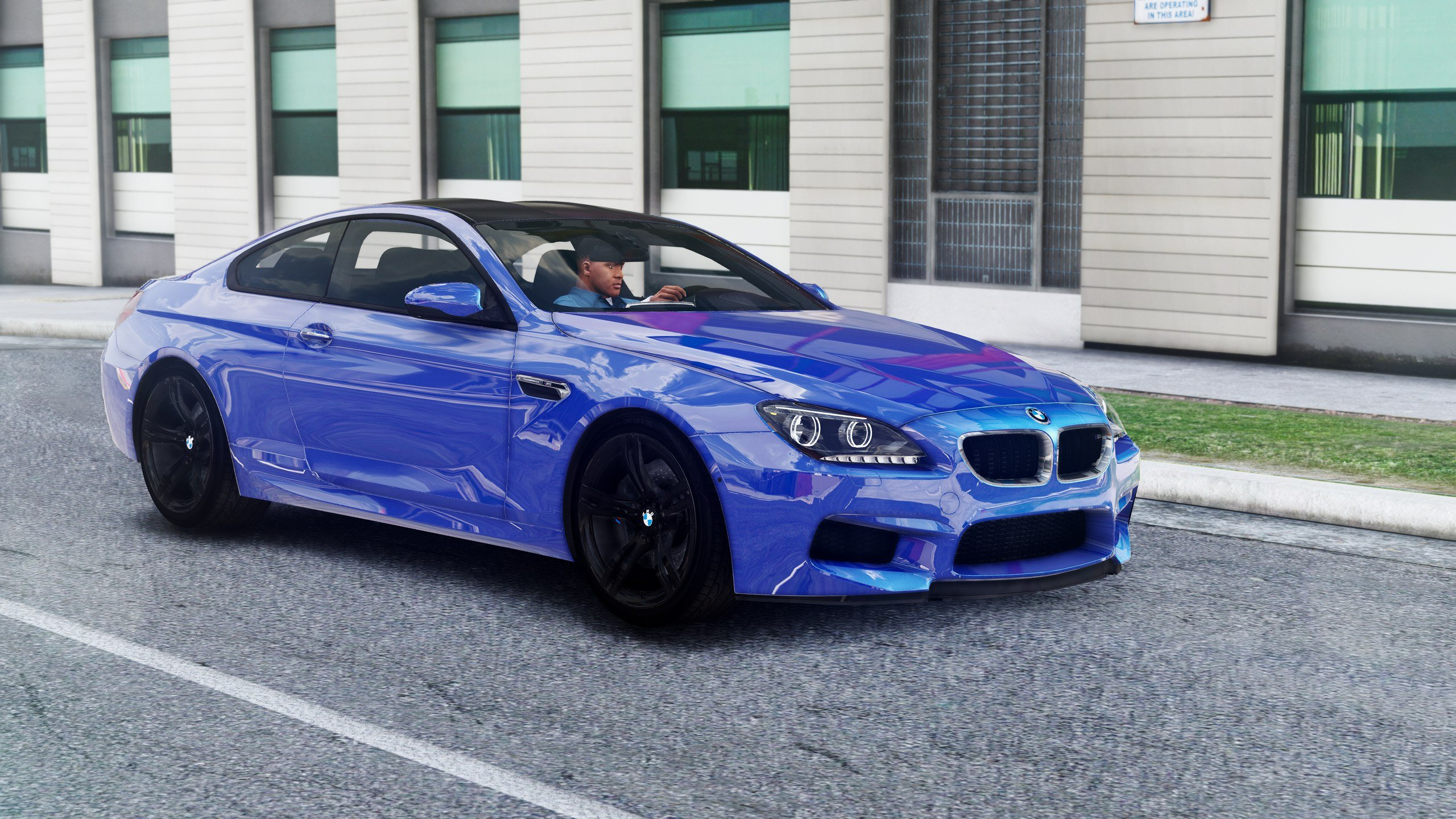 bmw m6 f13 hq shadow line add on replace gta5. Black Bedroom Furniture Sets. Home Design Ideas