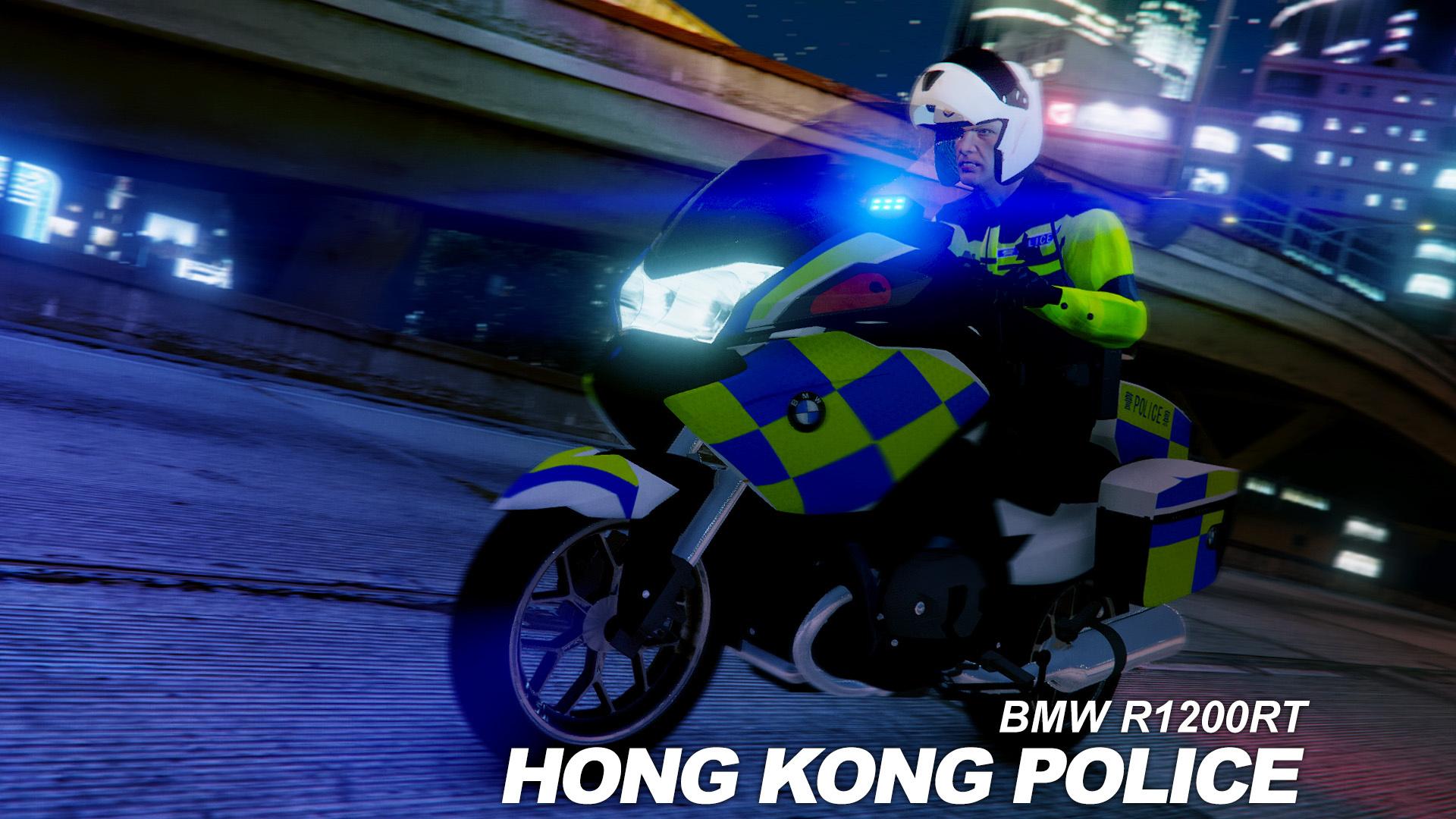 bmw r1200rt hong kong police skin gta5. Black Bedroom Furniture Sets. Home Design Ideas