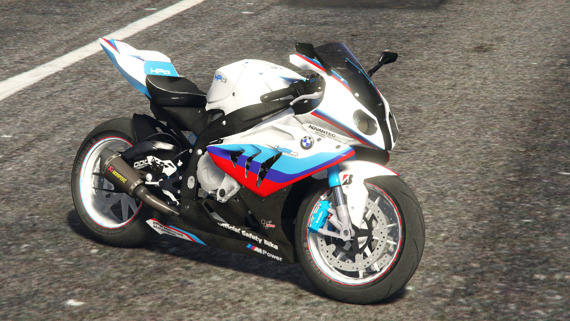 BMW S1000 RR 2014 Real Texture Livery Skin OLDER And WISER - GTA5 ...