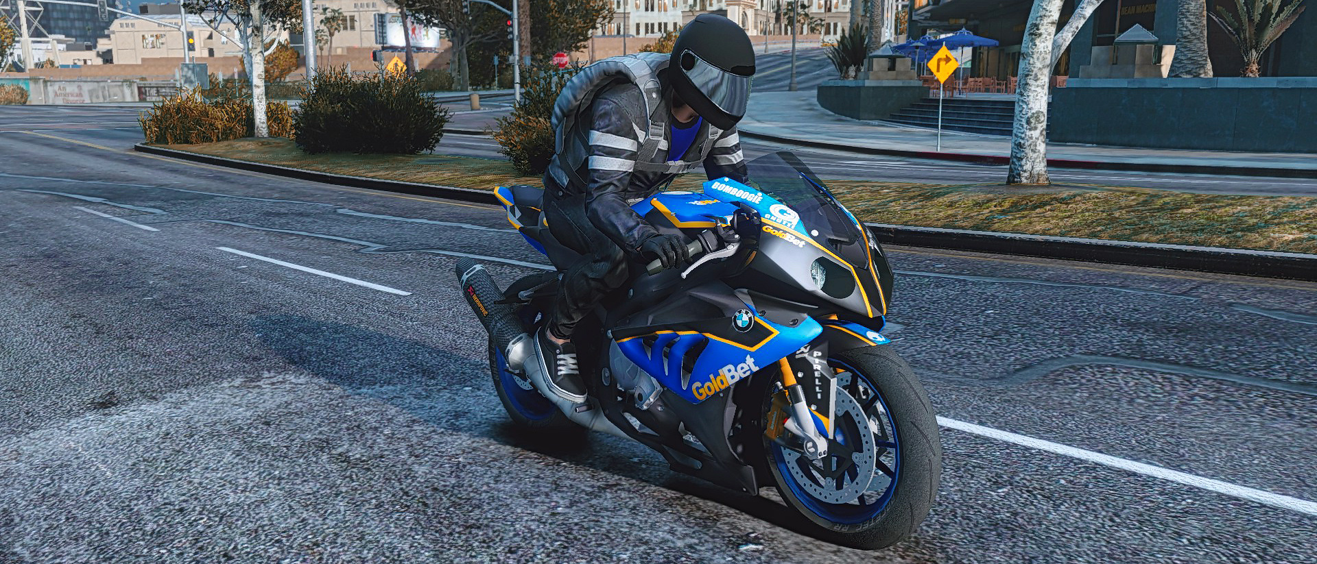 Bmw S1000rr Goldbet Gta5 Mods Com