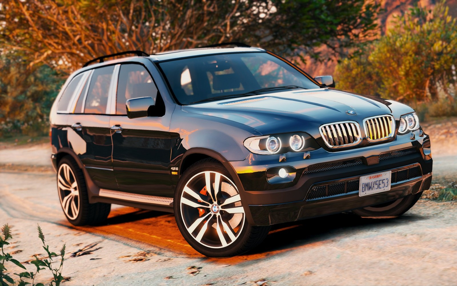 Bmw X5 E53 2005 Sport Package Add On Replace Gta5
