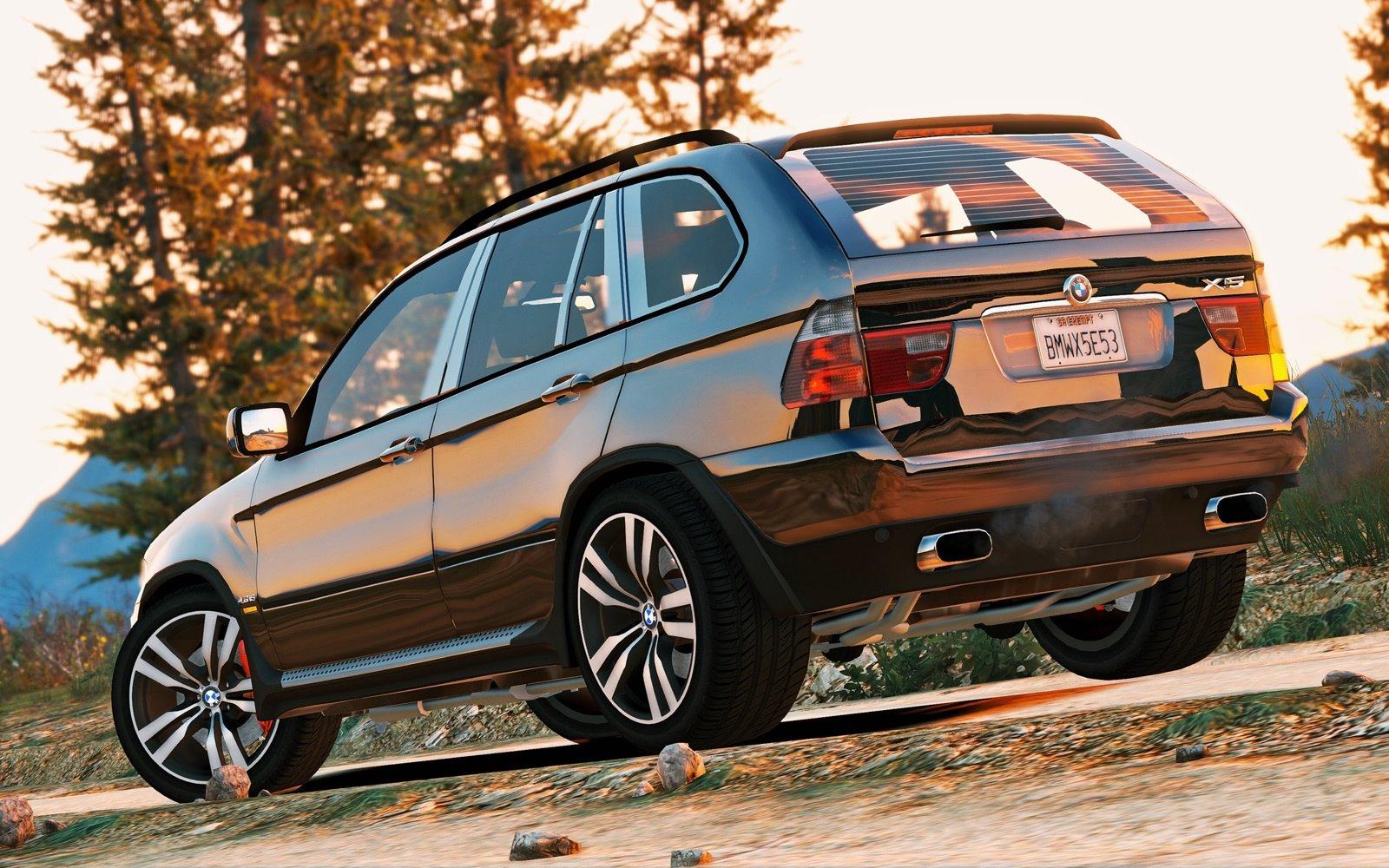 BMW X5 E53 2005 Sport Package AddOn  Replace  GTA5Modscom