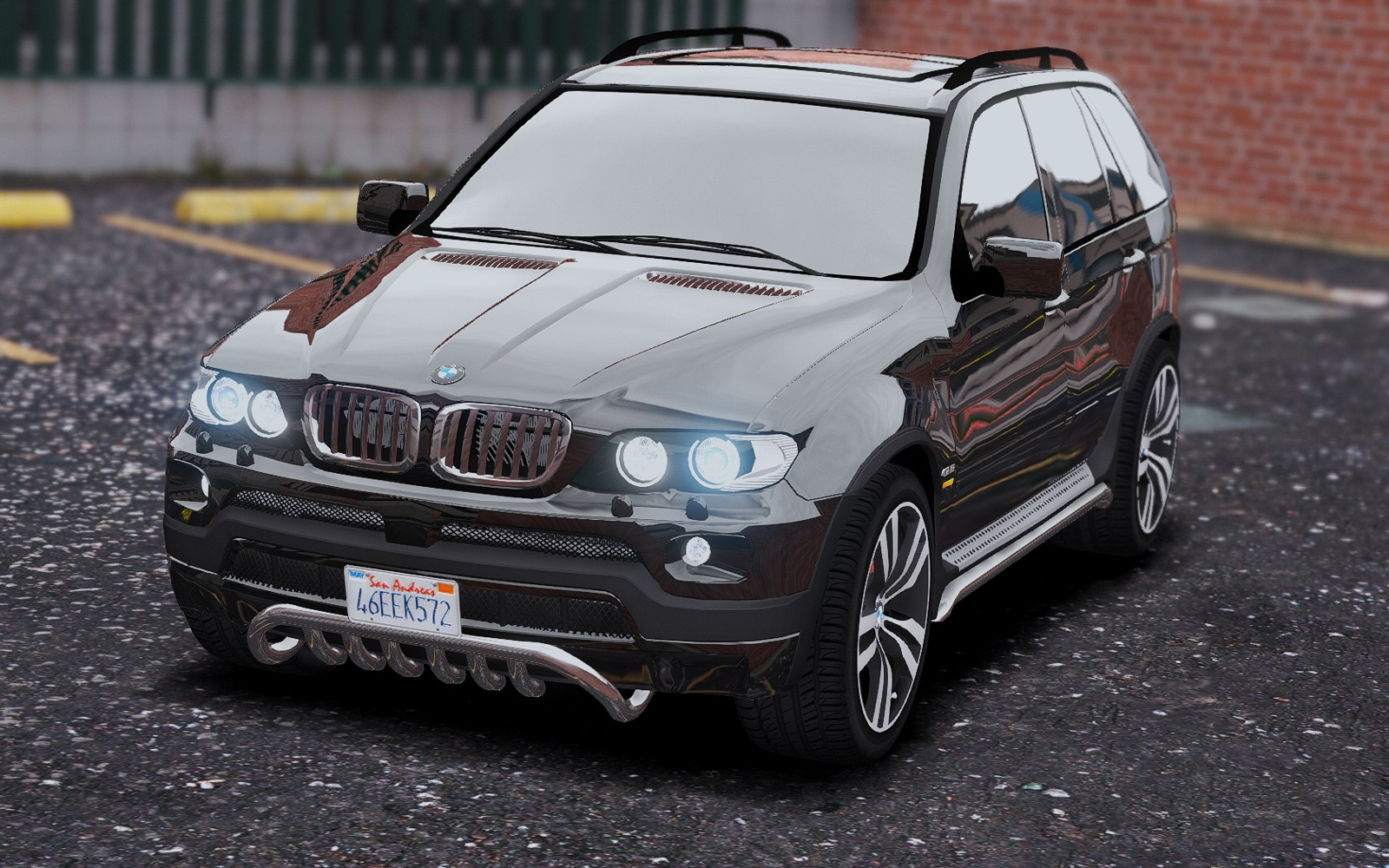 bmw x5 e53 2005 sport package add on replace gta5. Black Bedroom Furniture Sets. Home Design Ideas
