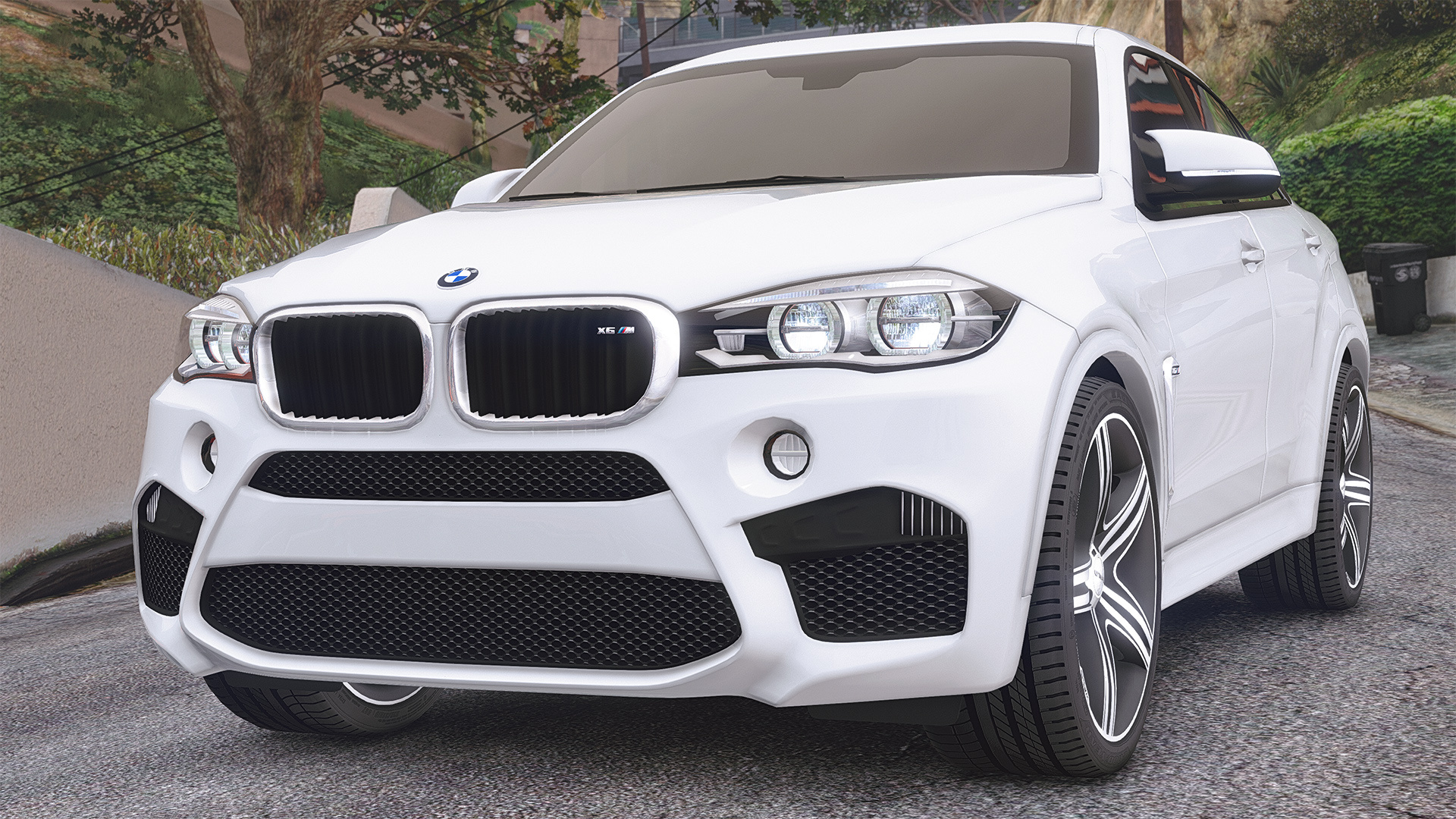 bmw x6m f16 add on replace animated gta5. Black Bedroom Furniture Sets. Home Design Ideas