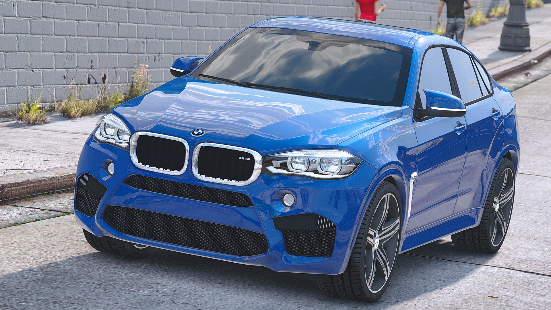 BMW X6M F16 [Add-On / Replace | Animated] - GTA5-Mods com