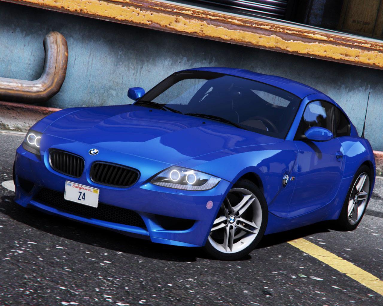 Bmw Z4 M Coupe 2006 2008 Add On Gta5 Mods Com