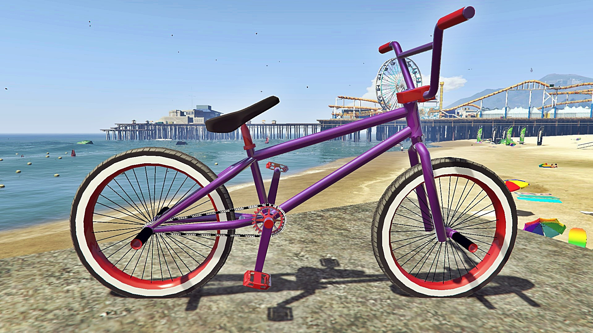Bmx Street With Pegs [ Addon / Replace ] - GTA5-Mods.com