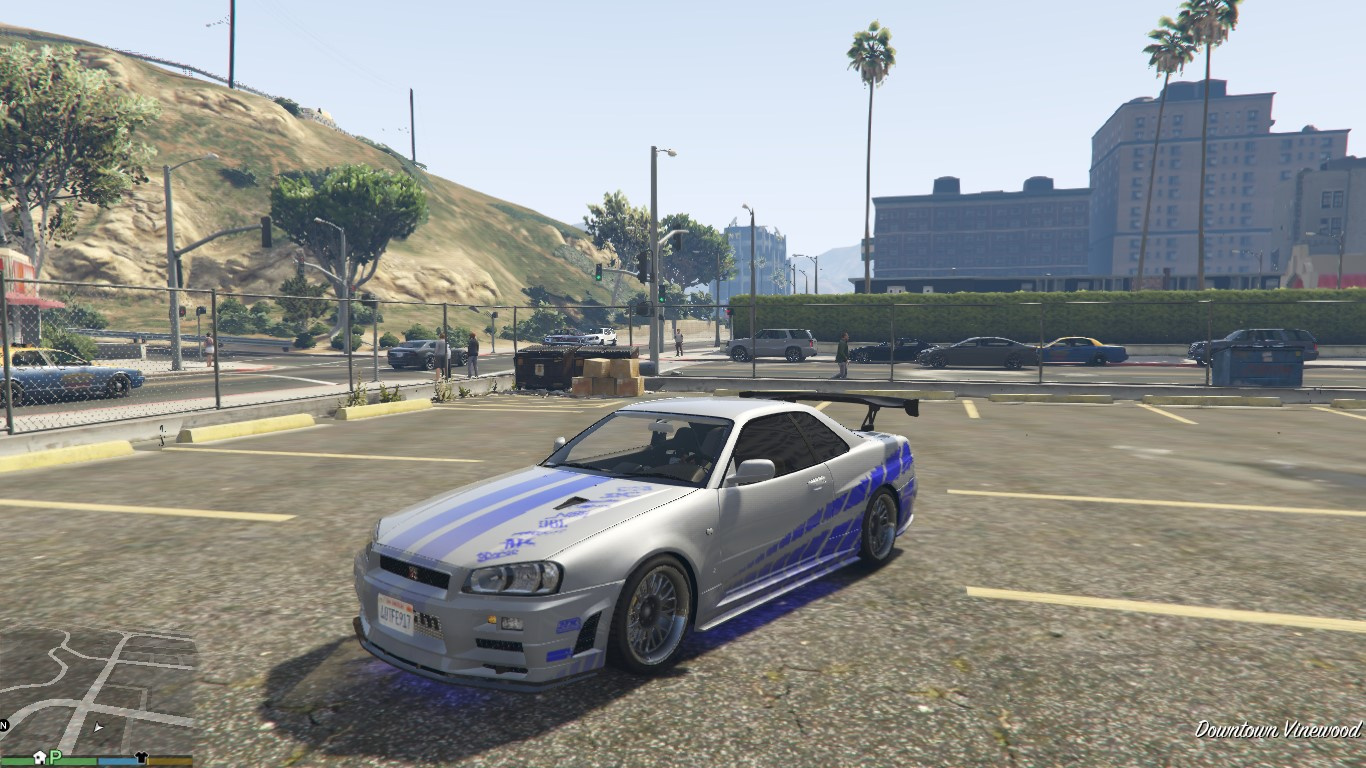how to get a skyline gta5