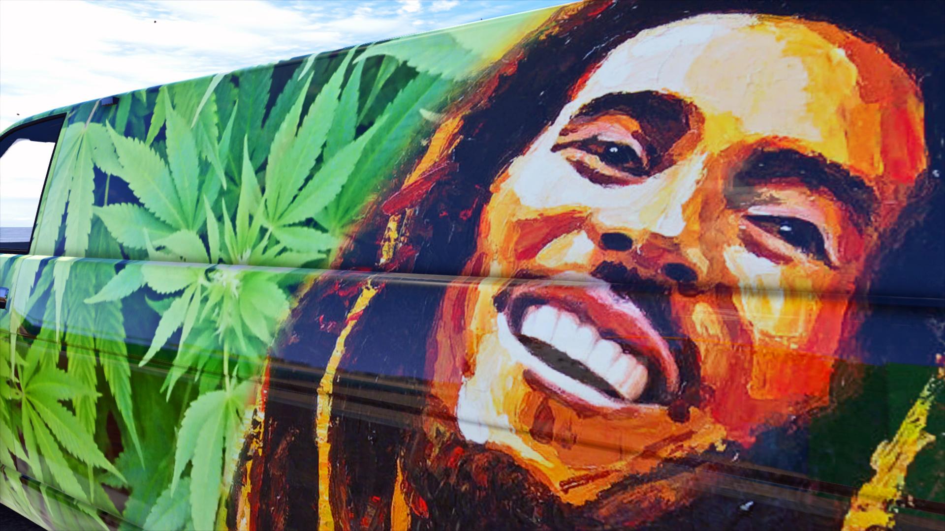 Bob Marley Van