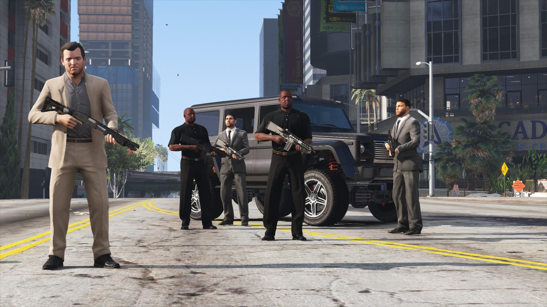 Bodyguard Squads - GTA5-Mods com