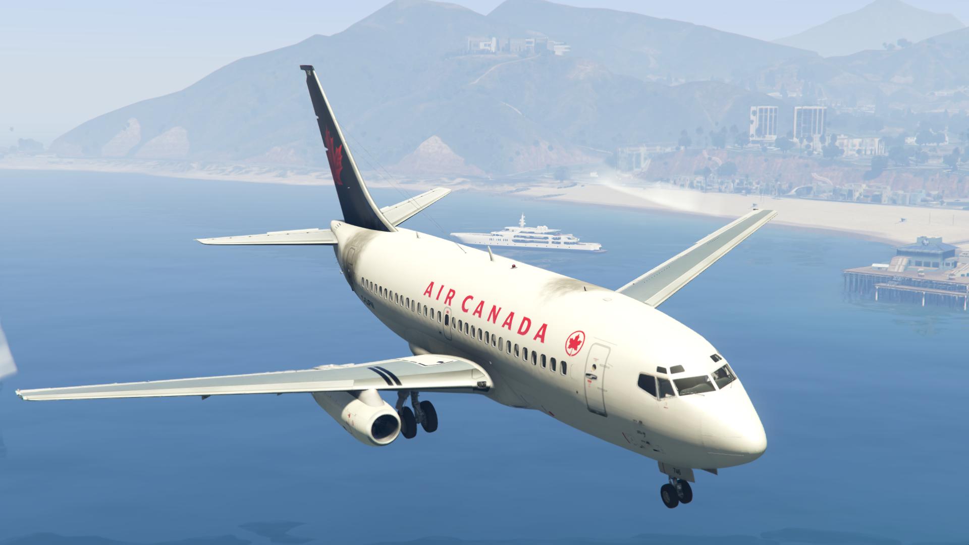 Boeing 737-200 Air Canada Livery - GTA5-Mods com