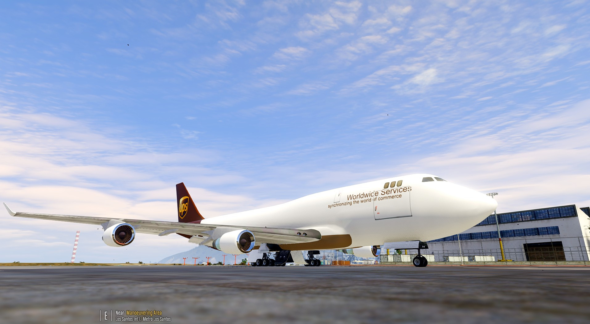 Boeing 747-400 Freighter [Add-On / Replace]