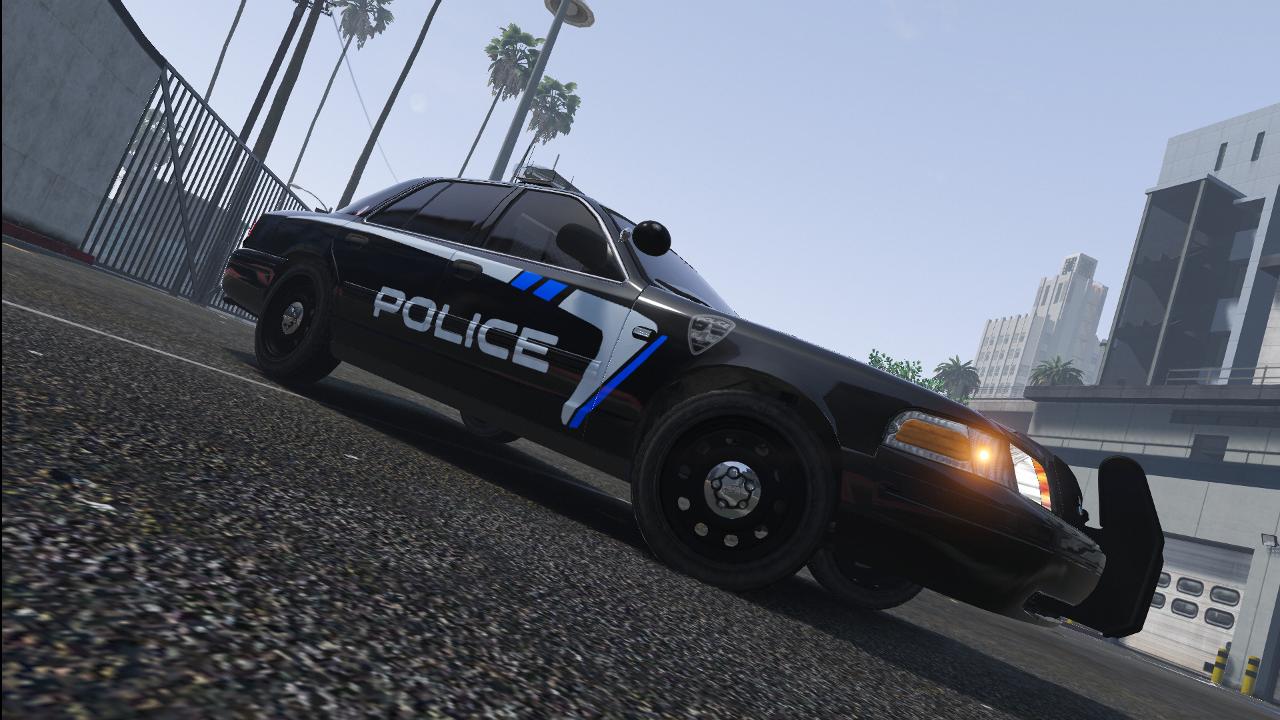 Boise Police Inspired Lspd Skin License Plates Gta5