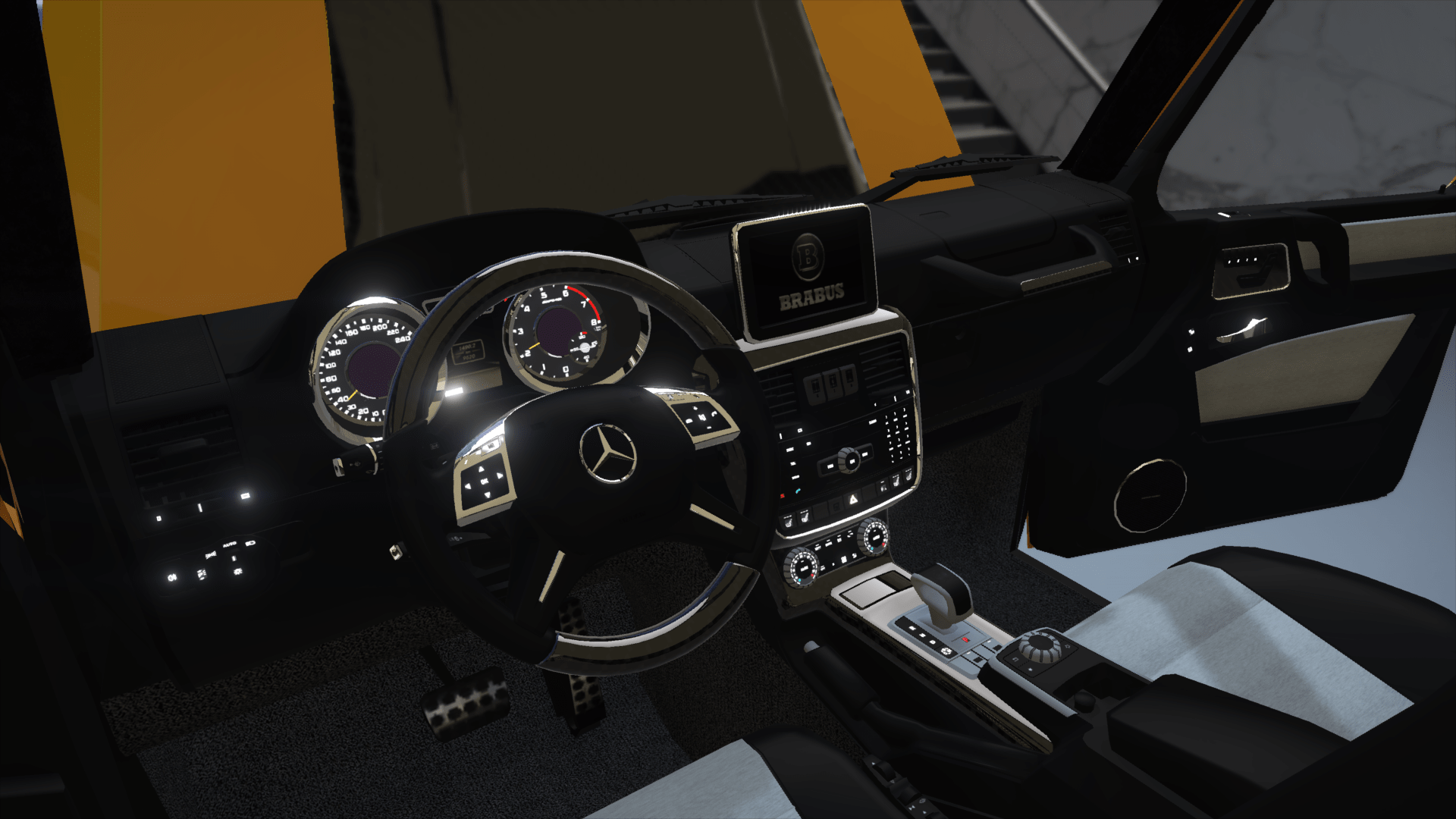 BRABUS 700 G63 AMG 6x6 Add on Replace GTA5 Mods