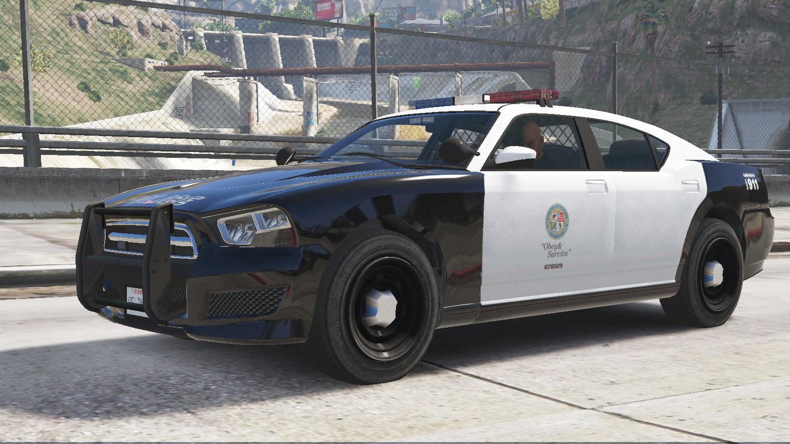 Bravado Buffalo S - Los Santos Police Department [Add-On