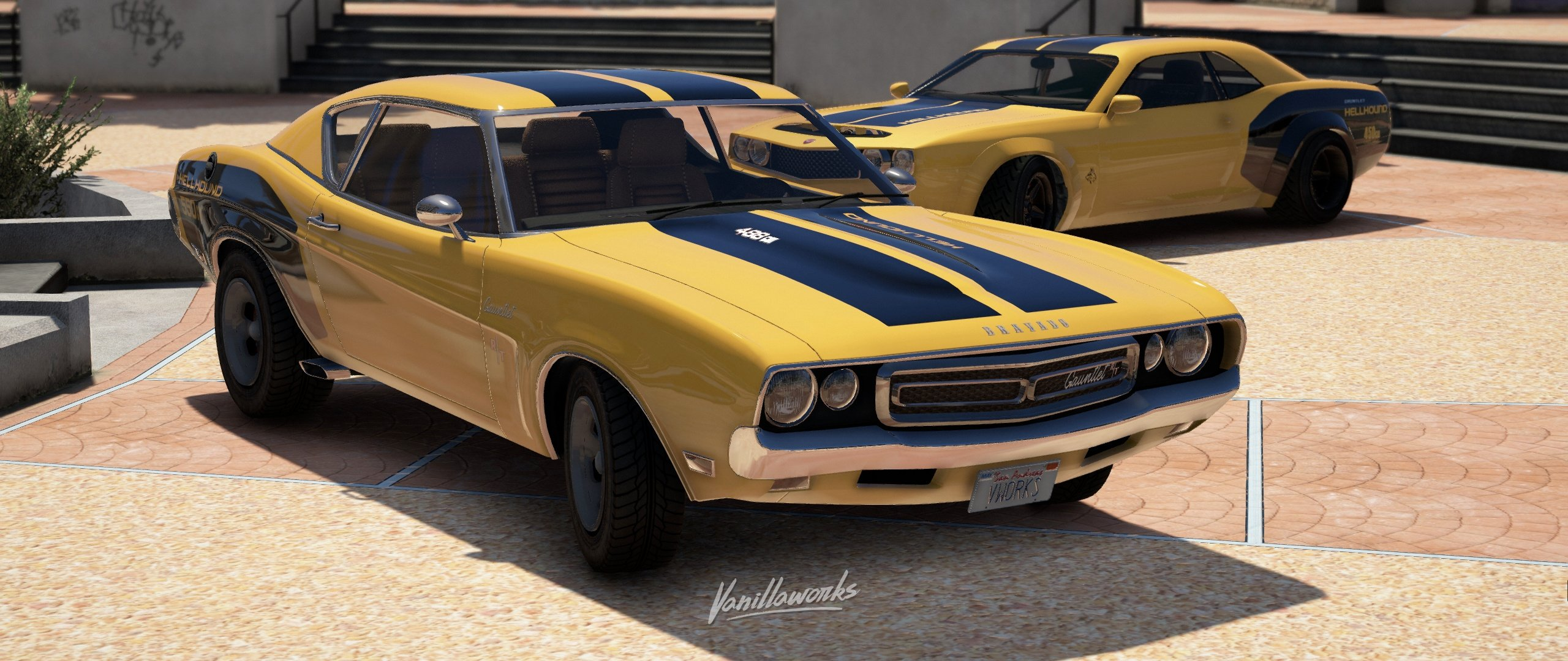 Bravado Gauntlet Classic [Add-On | Tuning | Liveries