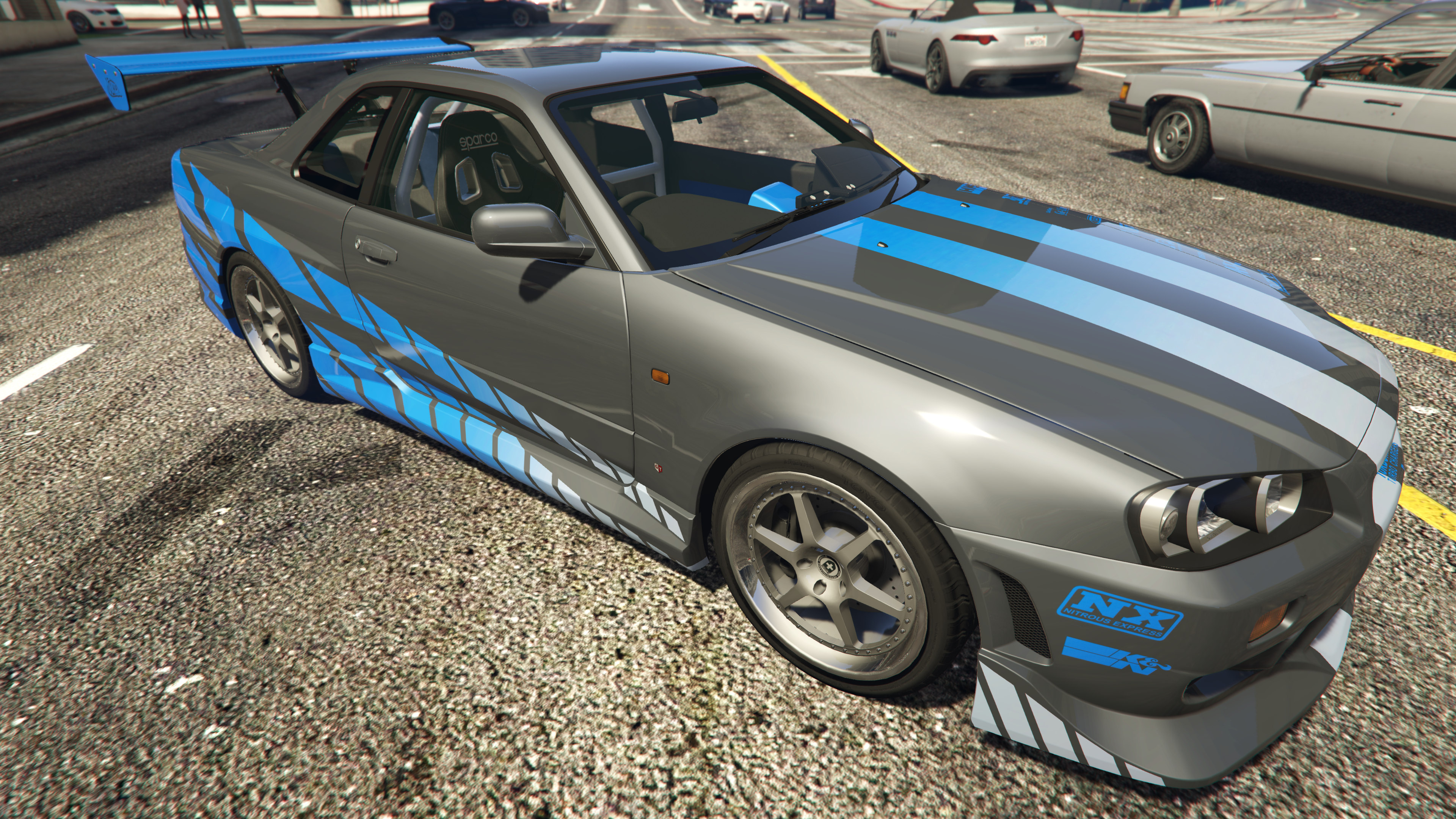 Brian's NISSAN SKYLINE GT-R R34 1999 (FAST&FURIOUS) [Add ...Fast And Furious Cars Skyline