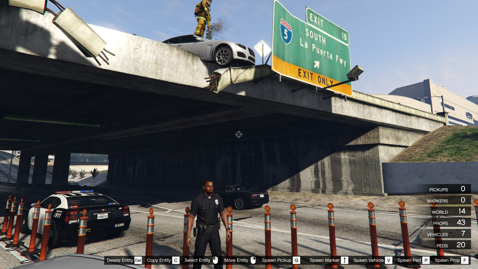 Bridge Car Crash [Map Editor] - GTA5-Mods.com