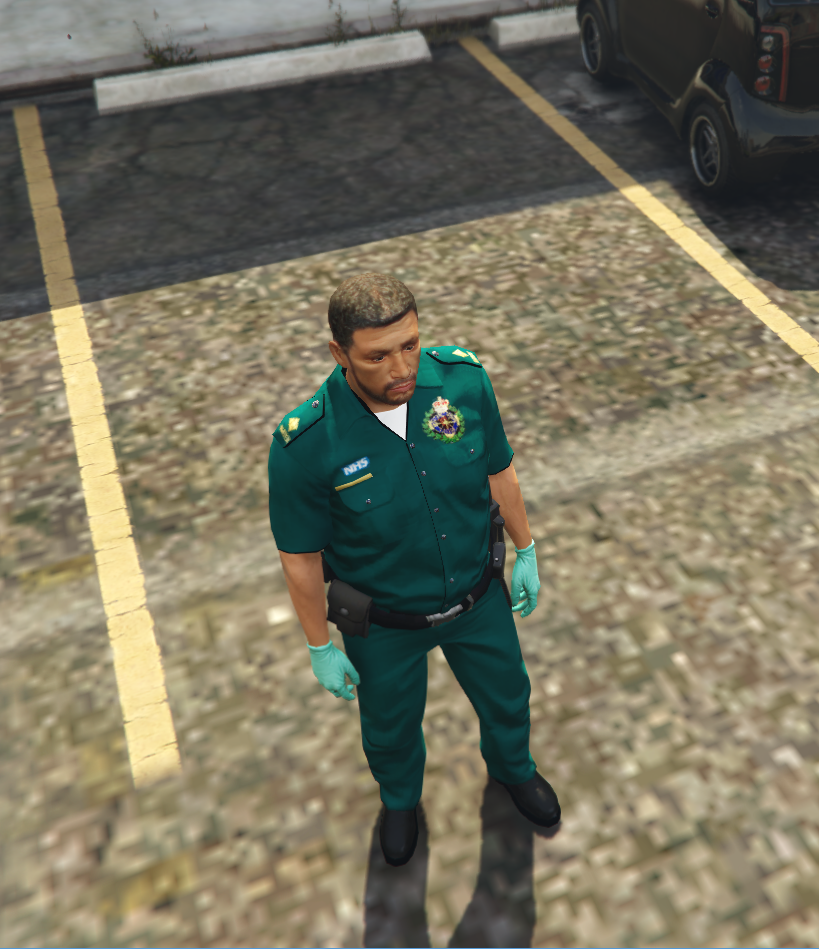 British Paramedic Skin - GTA5-Mods com