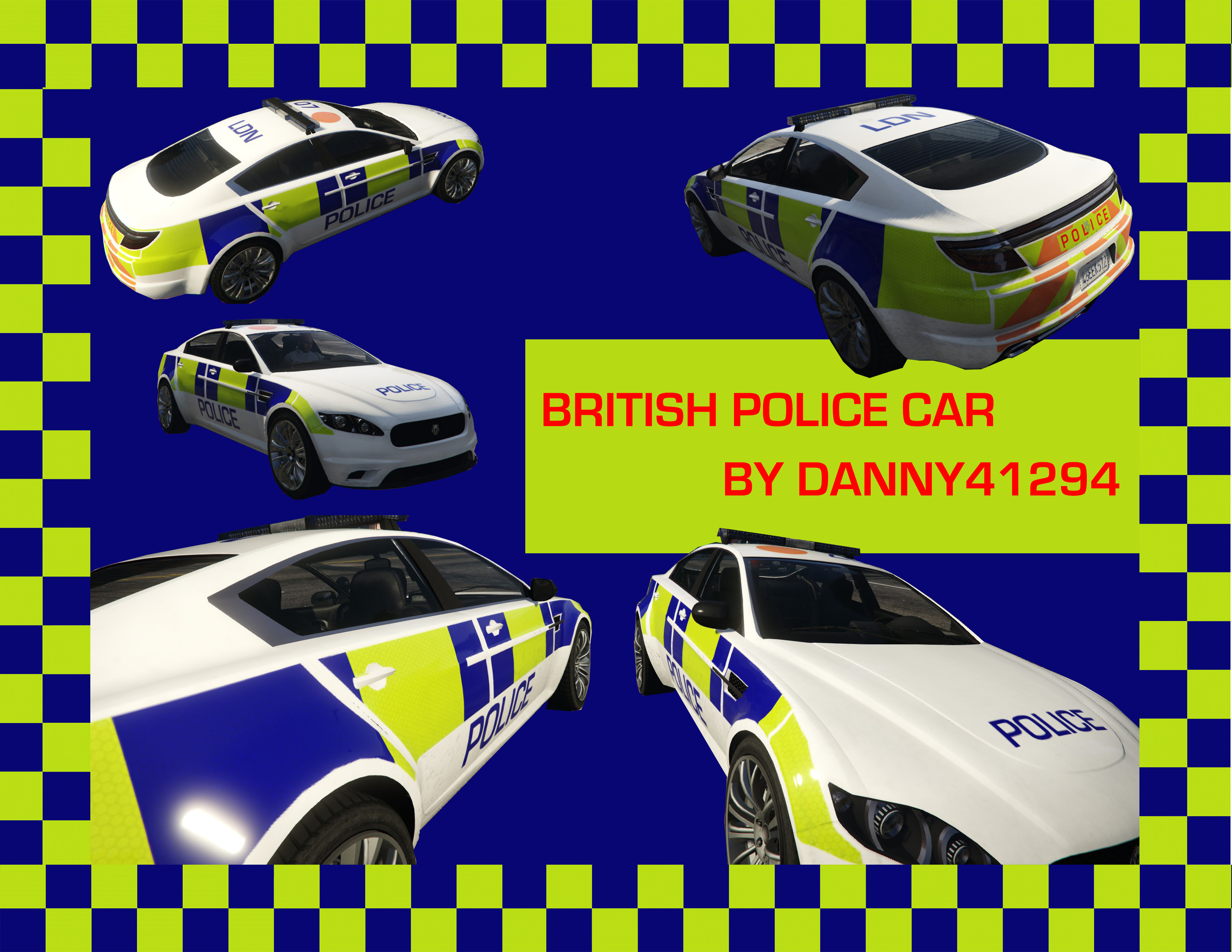 British Police Car - GTA5-Mods com