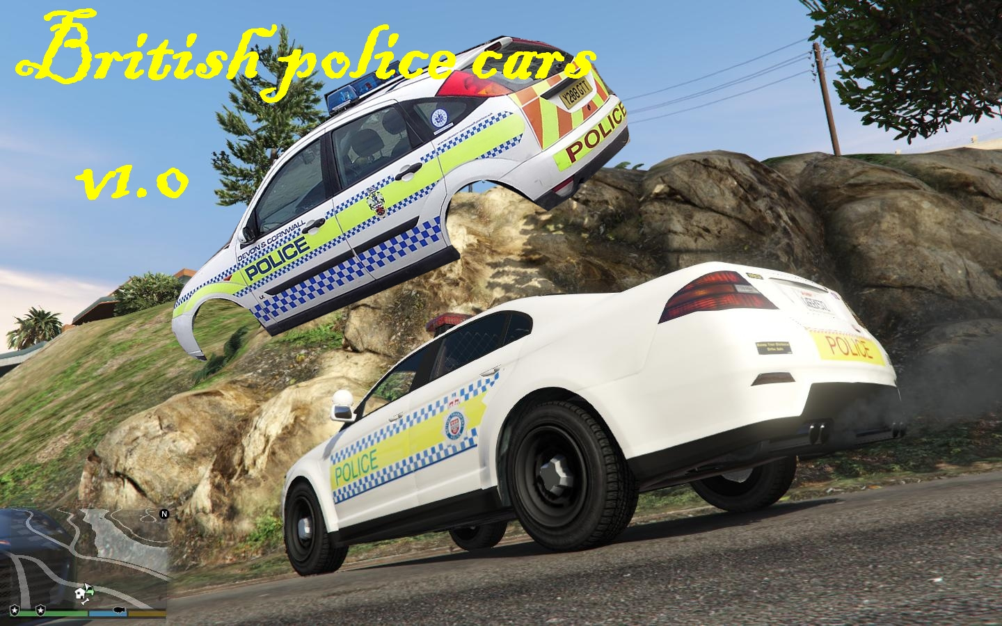 Old British police car textures style - GTA5-Mods com