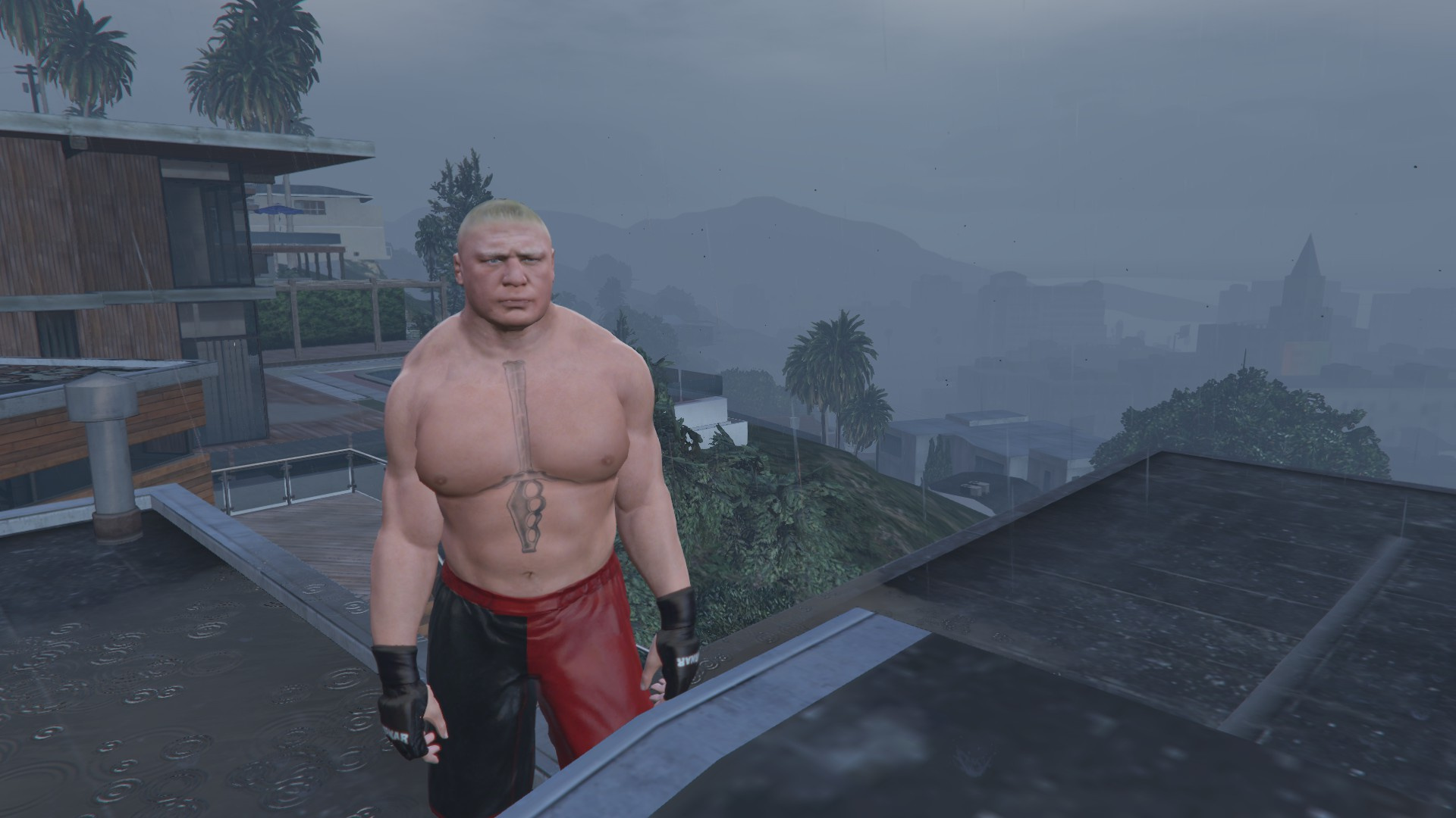 Brock Lesnar [4K] - GTA5-Mods com