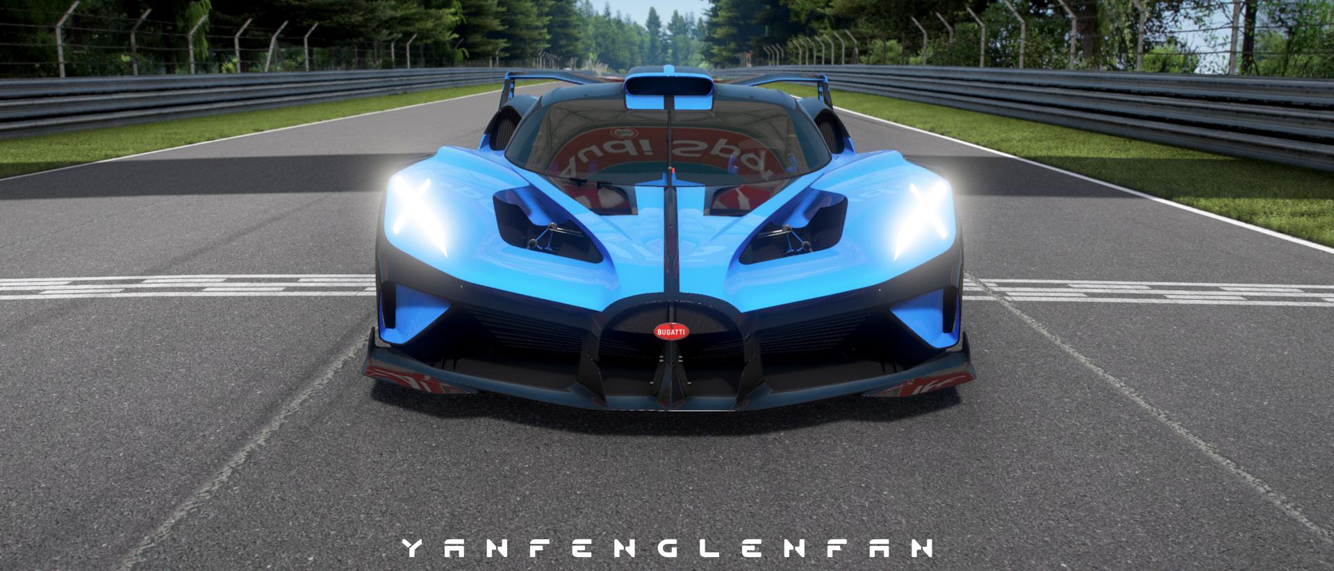Bugatti Bolide Concept Car Add On L Template Gta5 Mods Com