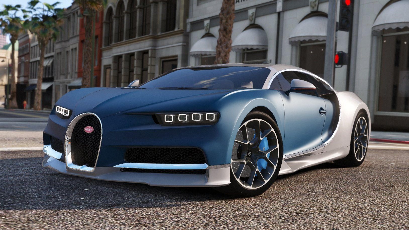 Bugatti Chiron Amp Vision Tuning Add On Gta5 Mods Com