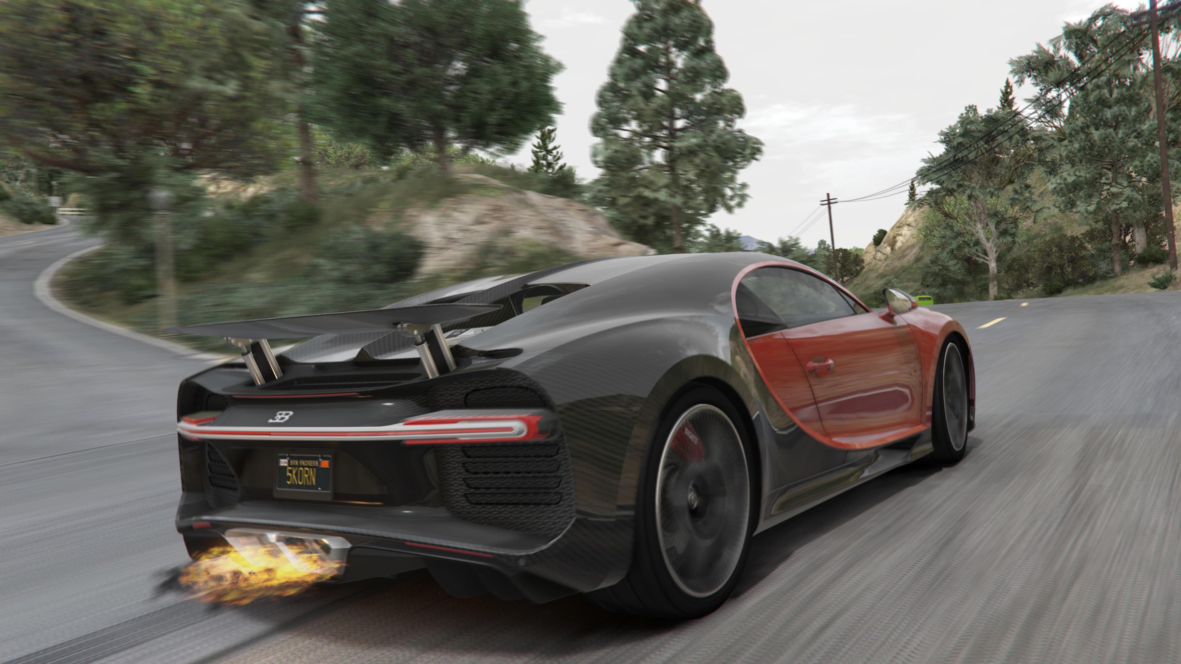 2017 Bugatti Chiron Tuning Livery Analog Digital