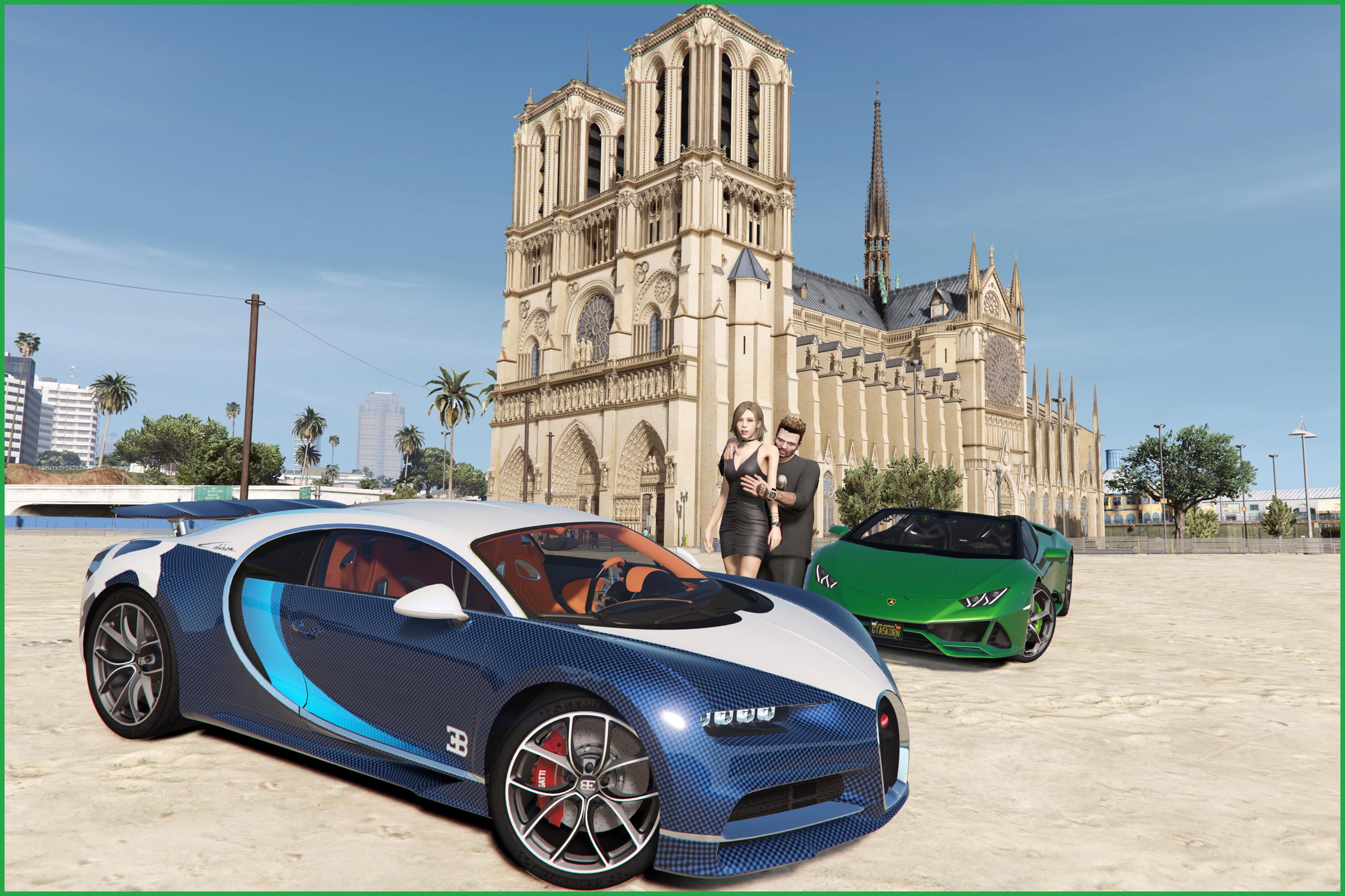 2019 Bugatti Chiron Sport & 2017 Bugatti Chiron [Tuning | Livery