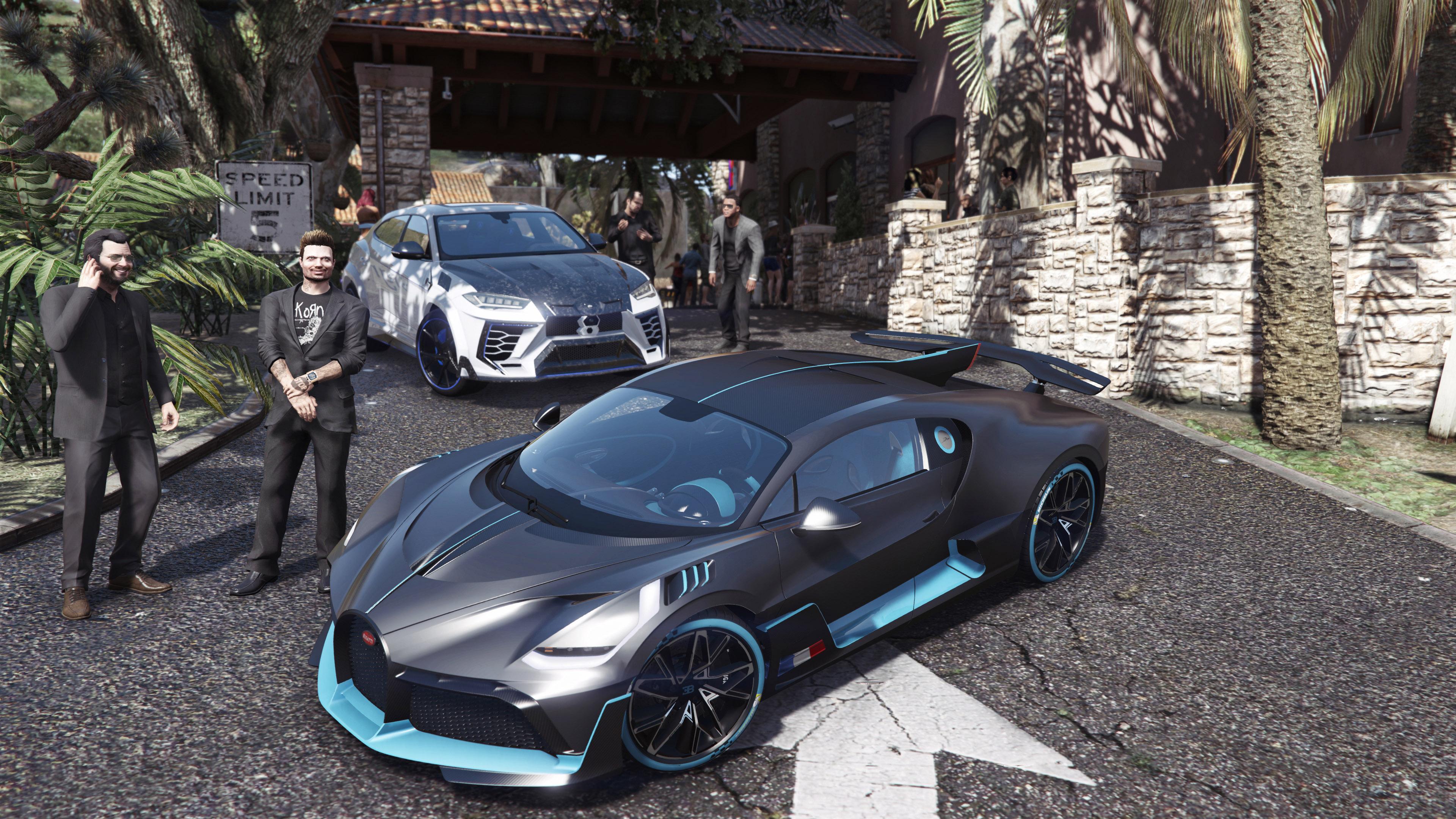 2019 Bugatti Divo Add On Gta5 Mods Com