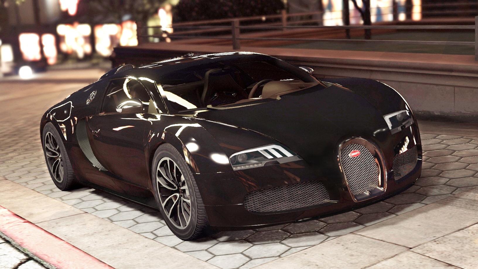 Bugatti Veyron Sang Noir [Add-On | Autovista] - GTA5-Mods.com