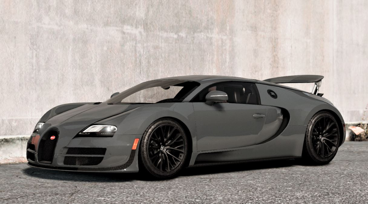 bugatti veyron sport handling note for automatic