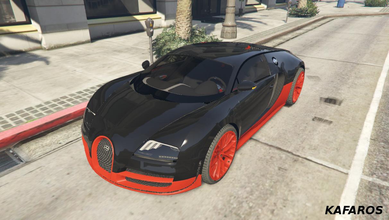 Bugatti veyron gta 5