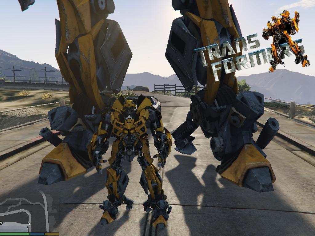 Bumblebee (Transformers) [Add-On Ped] - GTA5-Mods com