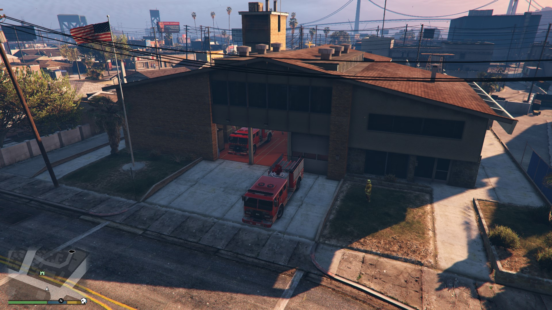 Bureau lsfd optimiser pour five m gta mods