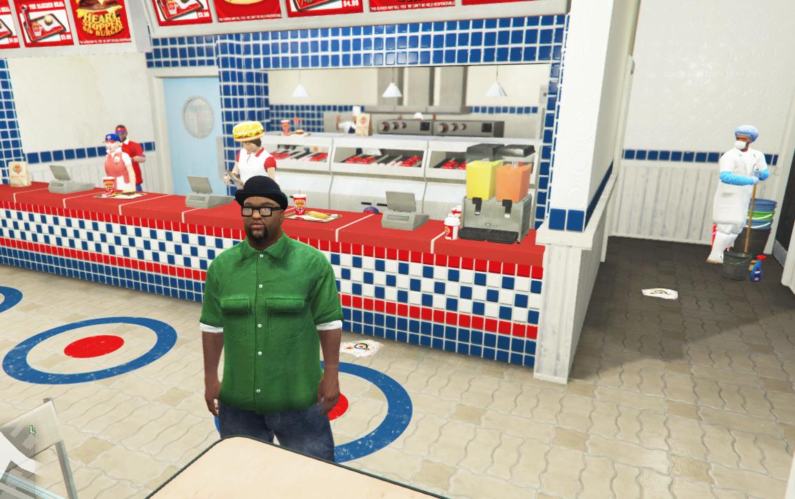 Burger Shot PED GTA SA & GTAIV [NEW PED] - GTA5-Mods com