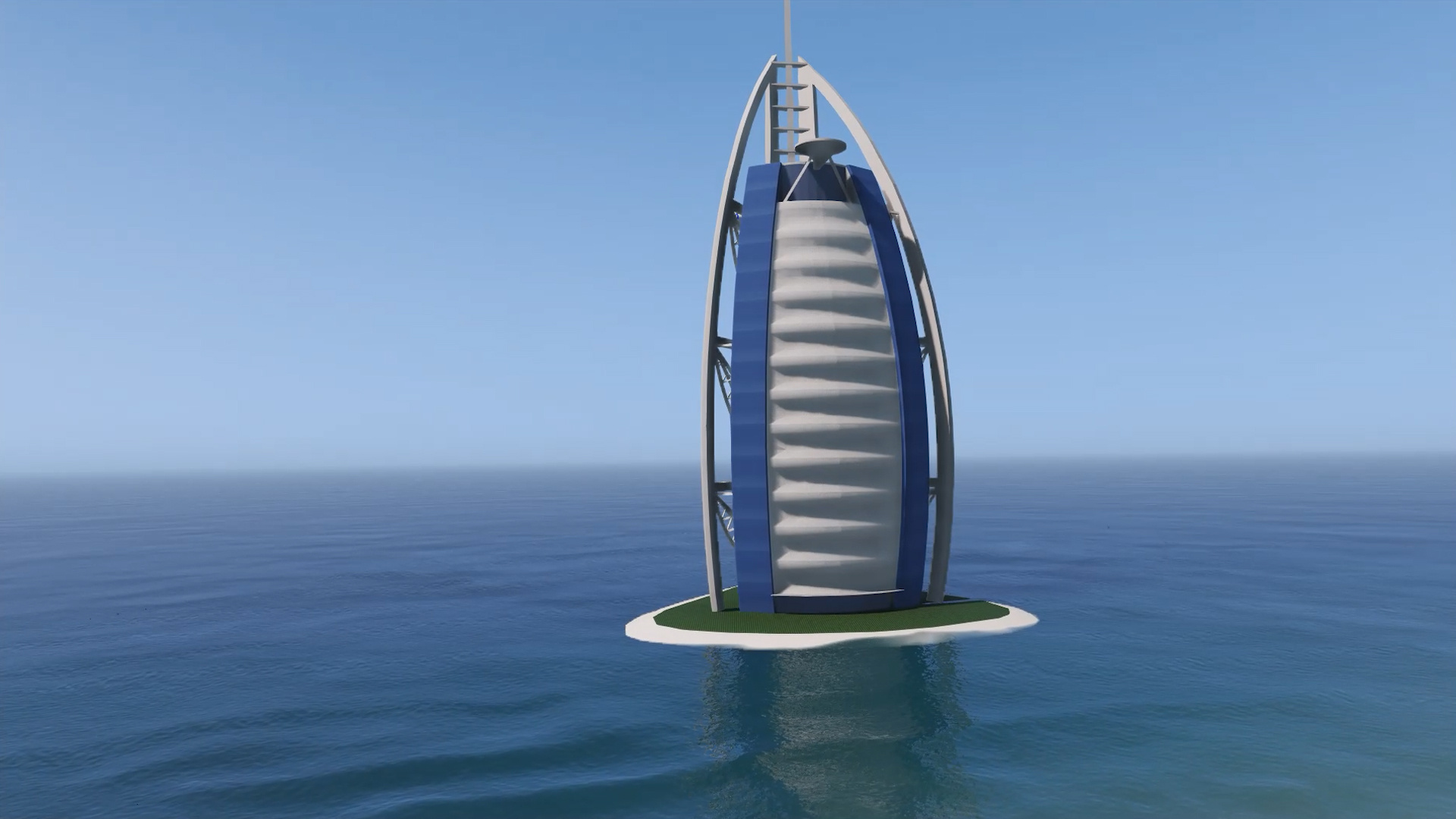 Burj al arab hotel dubai emissive add on replace for Al burj dubai