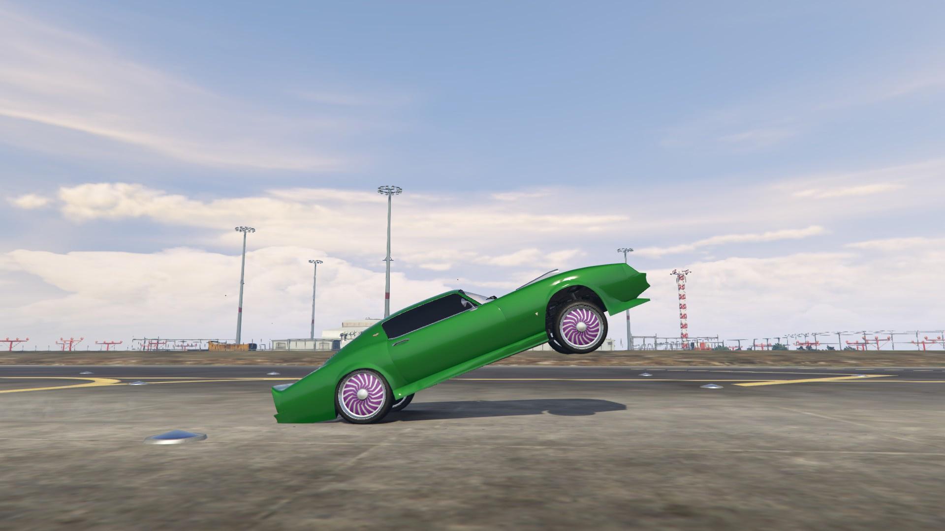 Burnout Wheelie Gta5 Mods Com