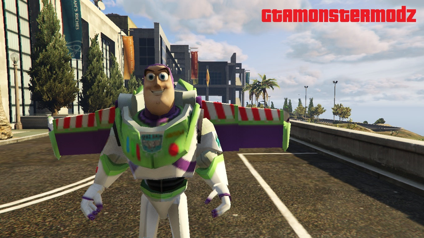 Buzz Lightyear - GTA5-Mods com