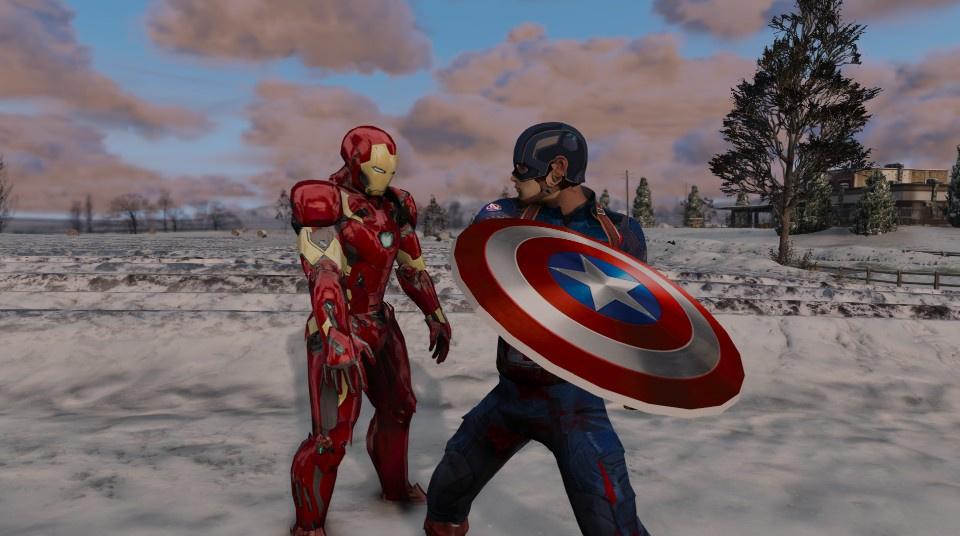 мод Iron Man для Gta 5 скачать - фото 8