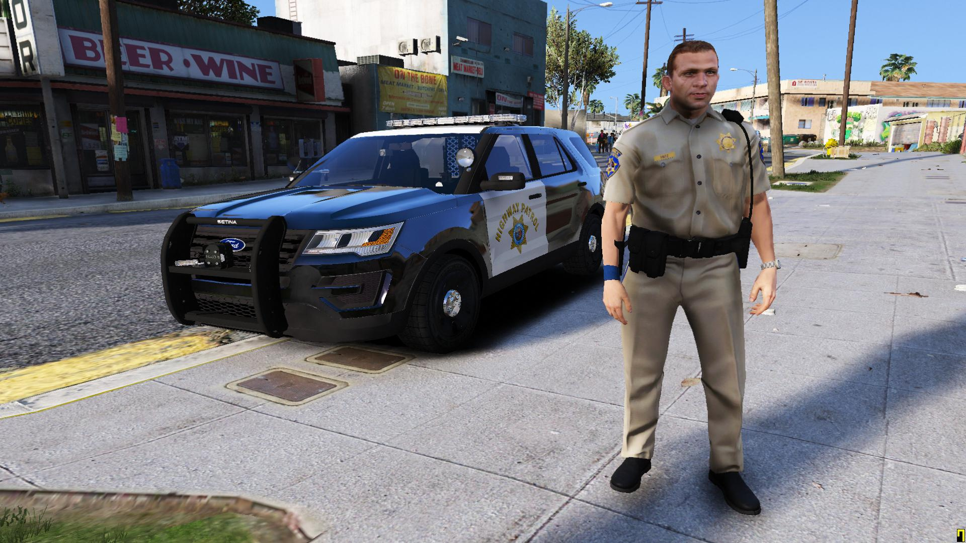 california highway patrol officer gta5 mods com
