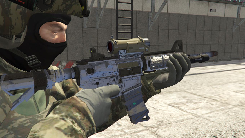 Call Of Duty Infinite Warfare Nv4 Flatline Full Animated