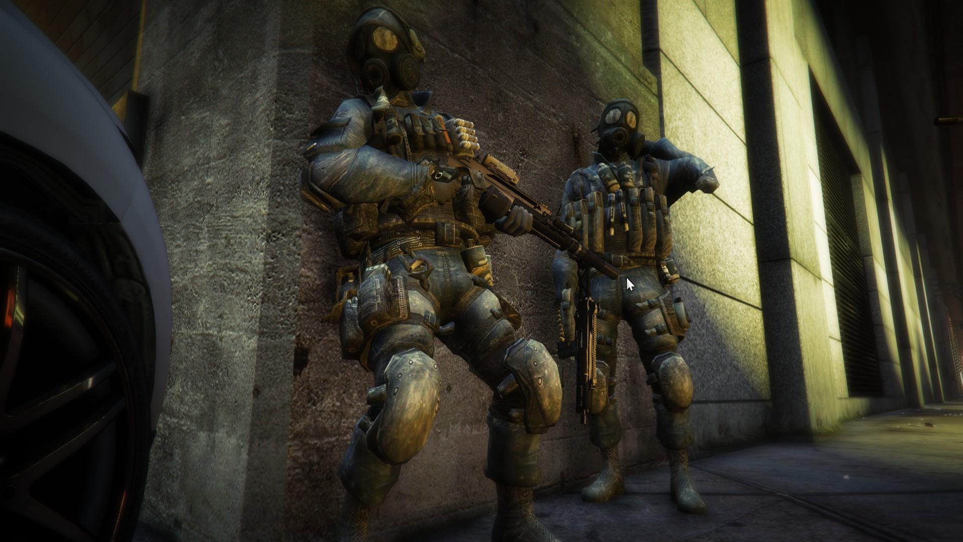 Call of duty MW3 SAS - GTA5-Mods com