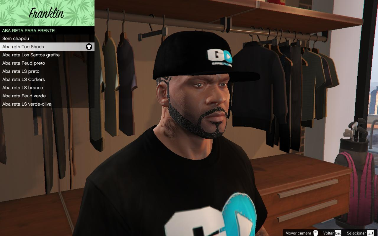 4e4c5b963b8e3 GameplayRJ T-Shirt and Hat (Camiseta e Boné) - GTA5-Mods.com