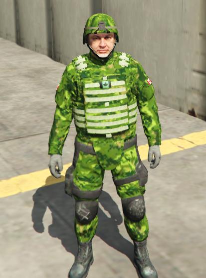 Canadian Army Uniforms - GTA5-Mods com