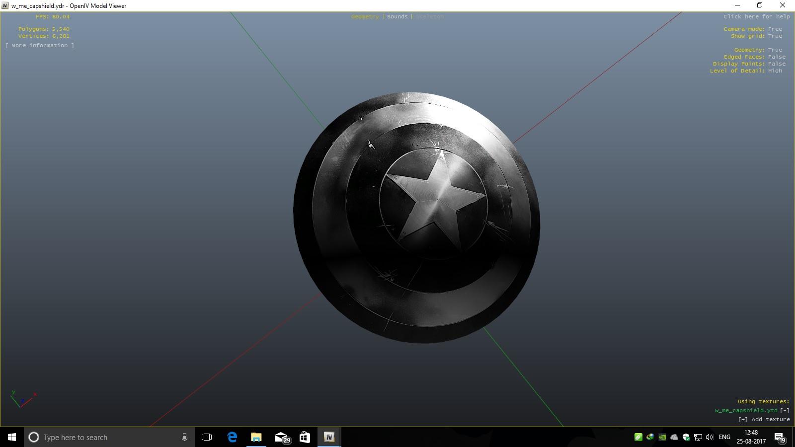 Marvel Captain America Shield 4k