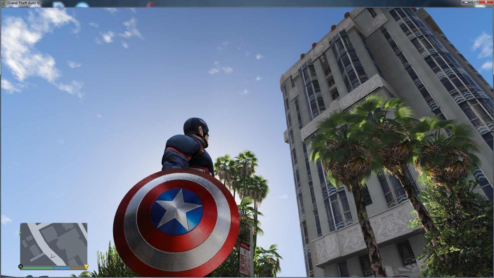Marvel Captain America Shield 4k Gta5 Mods Com