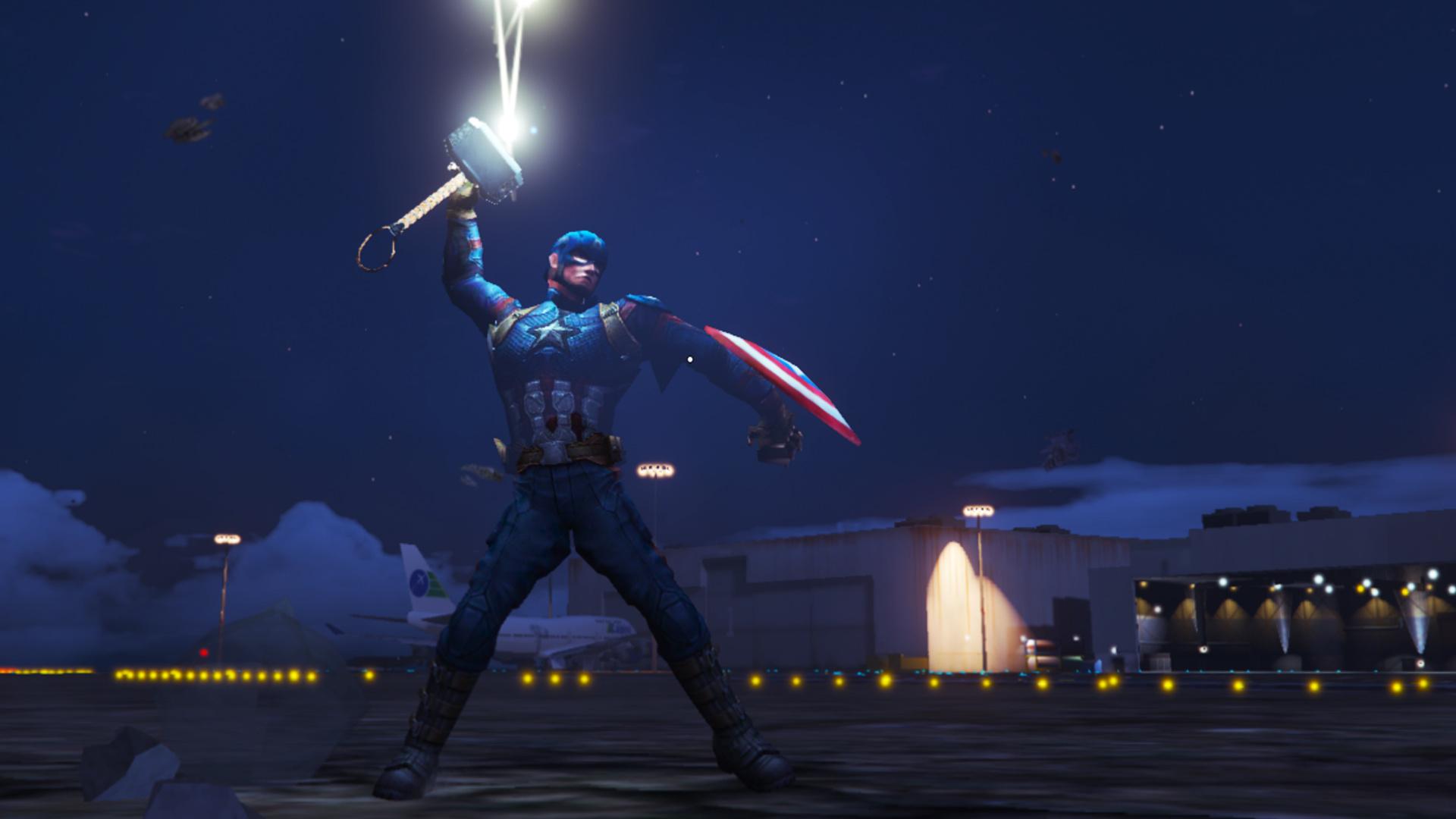 Captain America Endgame Gta5 Modscom